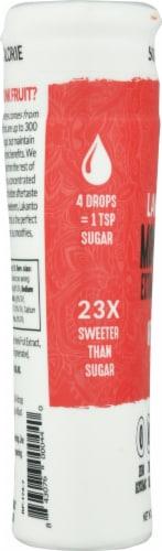 Lakanto Original Monkfruit Liquid Sweetener Extract Drops Perspective: left
