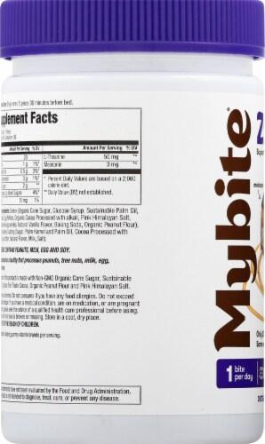 MyBite Vitamins Sweet Zzzz Melatonin Dietary Supplement Perspective: left