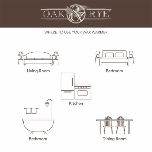 Oak & Rye Plug-In Jack O'Lantern Wax Warmer Perspective: left