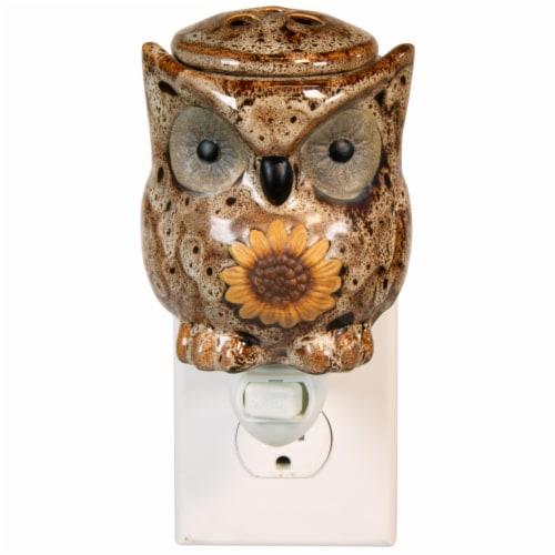 Oak & Rye Spotted Owl Mini Wax Warmer Perspective: left