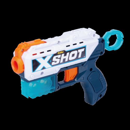 Zuru X-Shot Excel Ultimate Shootout Nerf Playset Perspective: left