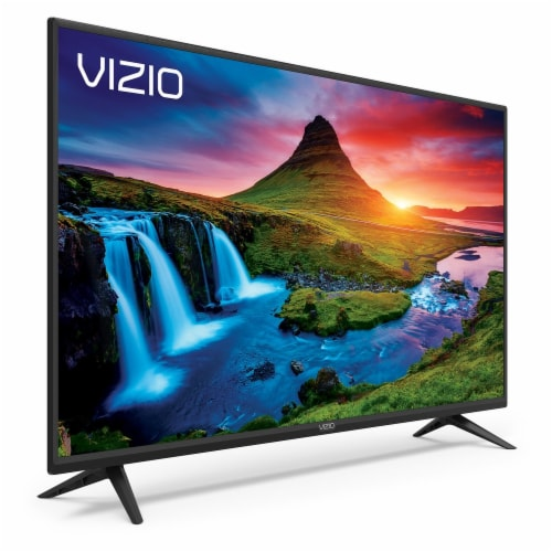 Vizio D-Series™ Smart TV - Black Perspective: left
