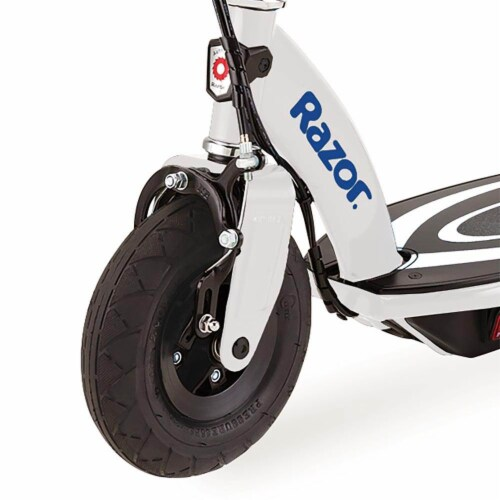 Razor Power Core E100 Kids Ride On Motorized Electric Powered Scooter Toy, Blue Perspective: left
