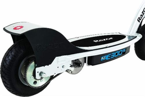 Razor® Black/White E300S Electric Scooter Perspective: left