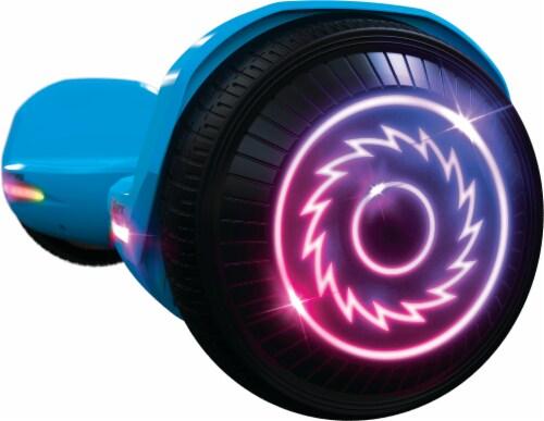 Razor Hovertrax™ Prizma LED Blue Hoverboard Perspective: left