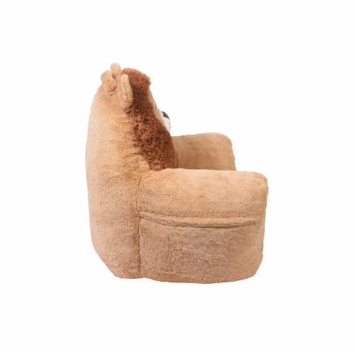 Cuddo Buddies Lion Plush Chair Perspective: left