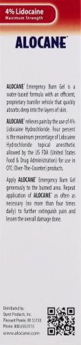 Alocane Emergency Burn Gel Perspective: left
