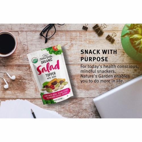 Nature's Garden Organic Seeds Salad Topper 3.5 oz (Pack of 5) Perspective: left