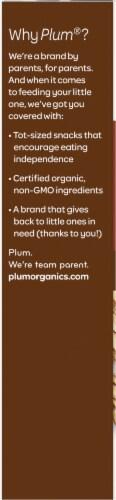 Plum® Organics Almond Butter Mighty Nut Butter Bar Filled Multigrain Bar Perspective: left