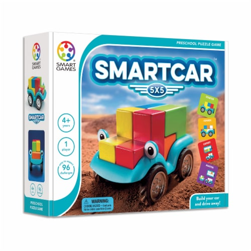 SmartGames SmartCar Toy Perspective: left