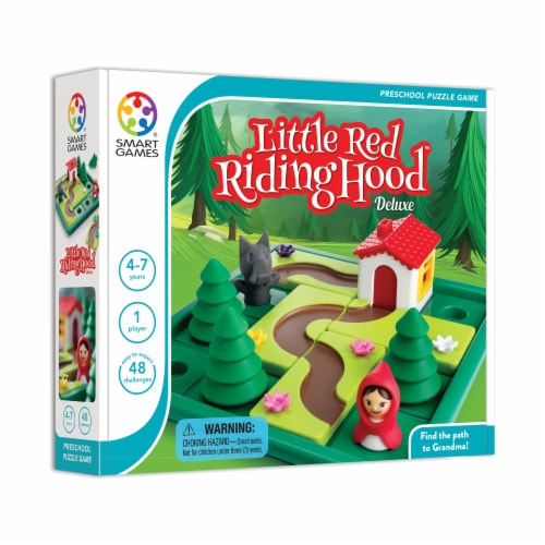 SmartGames Little Red Riding Hood Deluxe Game Perspective: left