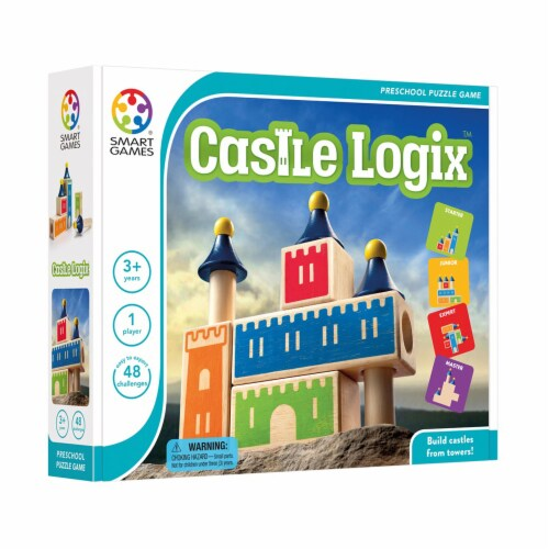 SmartGames Castle Logix Perspective: left