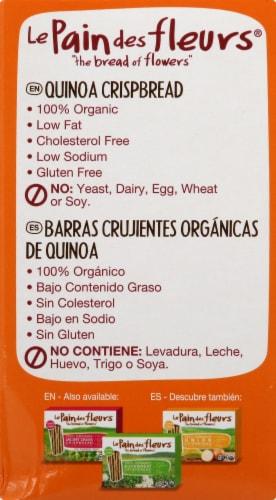 Le Pain des fleurs  Organic Crispbread Gluten Free   Quinoa Perspective: left