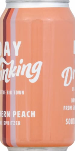 Little Big Town Day Drinking Southern Peach Wine Spritzer Perspective: left