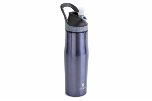 Manna Rezi Thermal Beverage Drinkware - Dusty Sparkle Perspective: left
