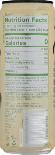 Zevia Organic Blood Orange Sweetened Earl Grey Tea Perspective: left