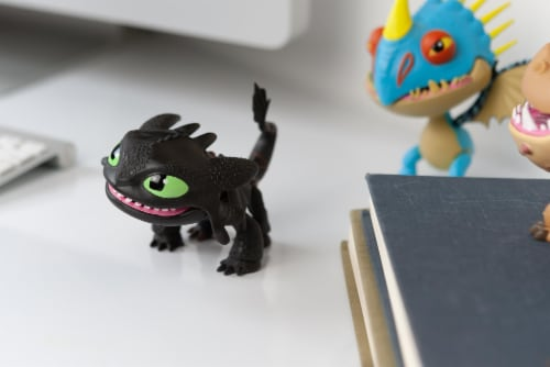 """How To Train Your Dragon 6""""-7"""" Action Vinyl: Toothless Perspective: left"""