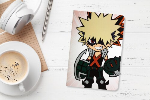 My Hero Academia LookSee Mystery Gift Box | Includes 5 Themed Collectibles | Midoriya Box Perspective: left