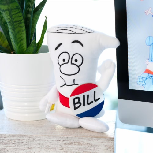 Schoolhouse Rock! Bill Plush Character | I'm Just A Bill | 9.5 Inches Tall Perspective: left