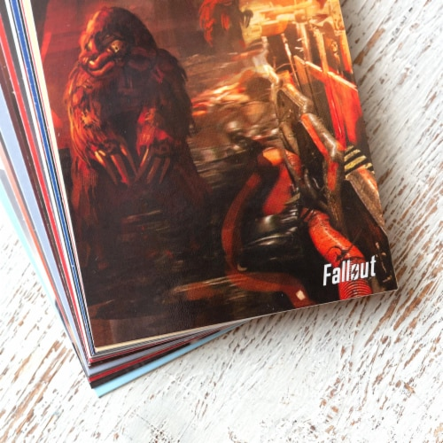 Fallout Trading Cards Series 2 | Sealed Blister Pack | Contains 10 Random Cards Perspective: left