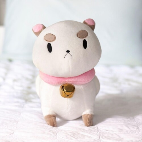 Talking PuppyCat Plush | Mighty Fine Official Bee & PuppyCat Doll | 10 Inches Perspective: left