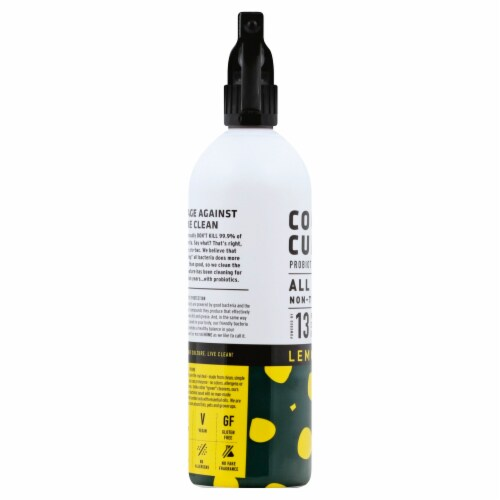Counter Culture Lemongrass Probiotic Cleaning Tonic All Purpose Cleaner Perspective: left
