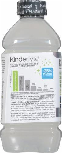 Kinderlyte Advanced Natural Hydration Coconut Lime Electrolyte Solution Perspective: left
