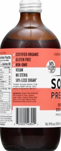 SodaStream Soda Press Grapefruit Organic Soda Syrup Perspective: left