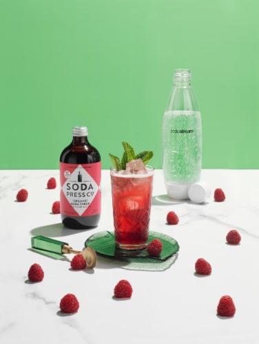 SodaStream Soda Press Raspberry & Mint Organic Soda Syrup Perspective: left