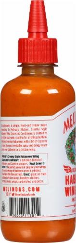 Melinda's Creamy Style Habanero Wing Sauce Perspective: left