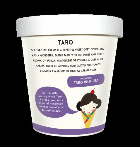 Noona's Taro Ice Cream - 5 pints Perspective: left