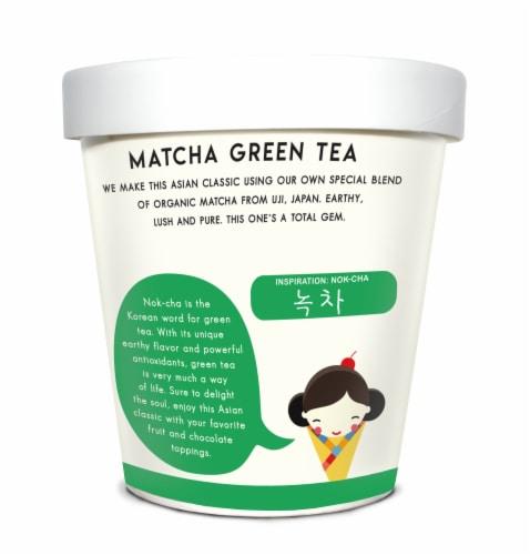Noona's Matcha Green Tea Ice Cream - 5 pints Perspective: left