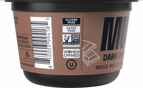 MUSH Dark Chocolate Overnight Oats Perspective: left