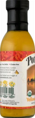 Portland Organic Gluten Free Mustard Perspective: left