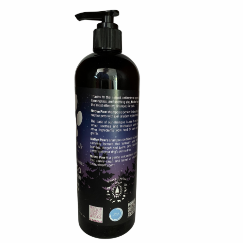 Native Paw Dog Shampoo | Hypoallergenic | Puppy Shampoo too | Concentrated | 100% Natural Perspective: left