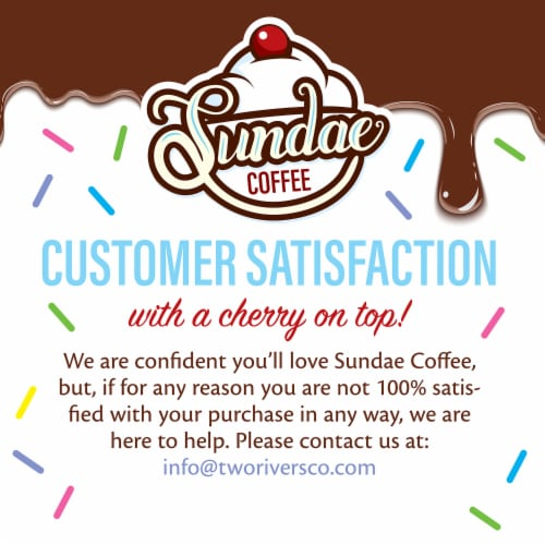 Sundae Ice Cream Flavored Coffee Pods, 2.0 Keurig K-Cup Compatible, Mocha Chip, 48 Count Perspective: left