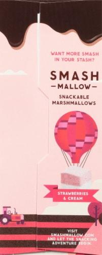 SMASHMALLOW SmashCrispy Dipped Strawberries & Cream Marshmallow Rice Treats Perspective: left
