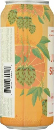 JuneShine Hopical Citrus Hard Kombucha Perspective: left