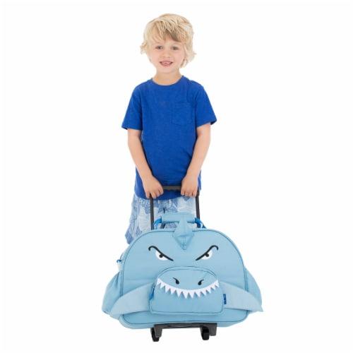 Bixbee Animal Pack Shark Little Traveler Luggage Perspective: left