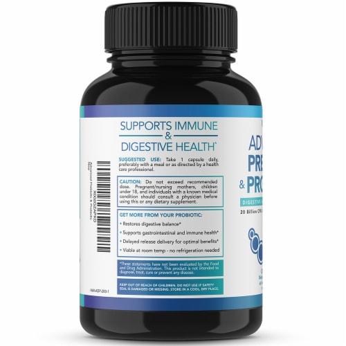Havasu Prebiotic/Probiotic Supplement Perspective: left