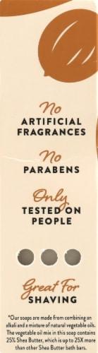 Peet Bros. Argan And Sandalwood Shea Butter Bar Soap Perspective: left