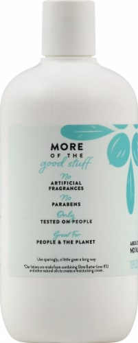 Peet Bros. Coconut Vanilla Shea Butter Body Lotion Perspective: left