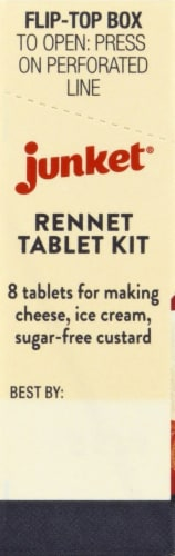 Junket Rennet Tablets Perspective: left