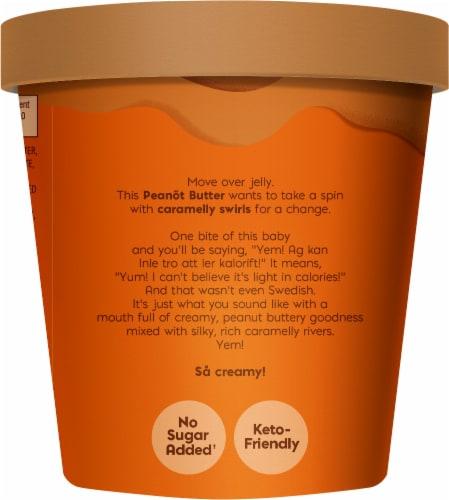 Bare Bones Nick's Swedish-Style Light Ice Cream Peanot Perspective: left
