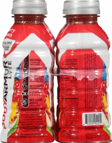 BODYARMOR Berry Punch Lyte Sports Drink Perspective: left