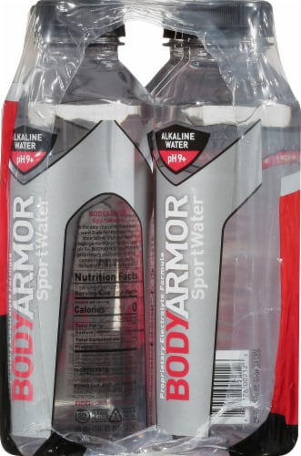 BODYARMOR Electrolyte Sport Water Perspective: left