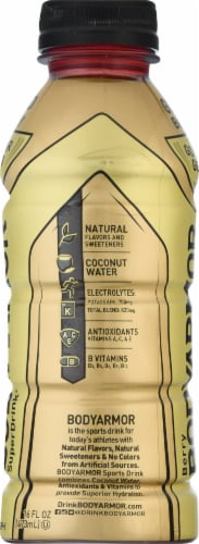 BODYARMOR Gold Berry Sports Drink Perspective: left