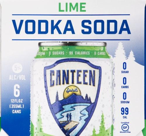 CANTEEN Spirits Lime Vodka Soda Perspective: left