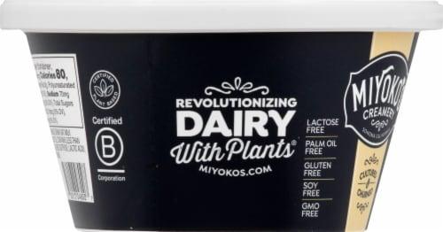 Miyoko's Creamery Organic Hint of Sea Salt Oatmilk Butter Perspective: left