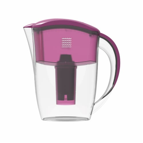 Drinkpod  Alkaline Water Pitcher 2.5L Capacity Includes 3 Filters Perspective: left